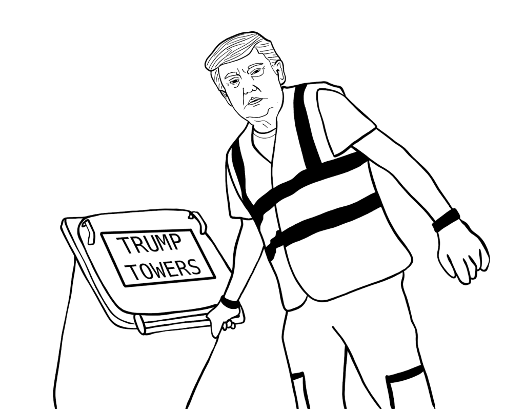 Trump rolling out bins