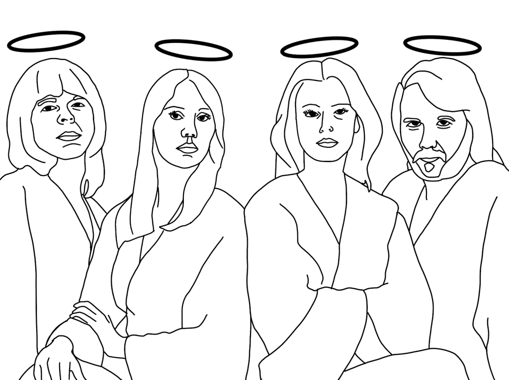 ABBA with halos